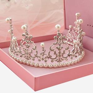 珍珠水钻皇冠
