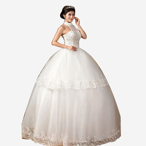 新娘甜美蕾丝